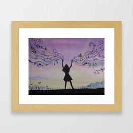 Morning Praises Framed Art Print