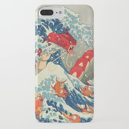 The Great Red Wave iPhone Case