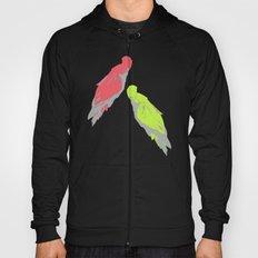 pale parrots Hoody