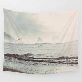 Great American Road Trip - Oregon Coast Wall Tapestry