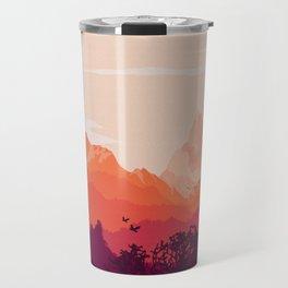 Warm Skies Travel Mug