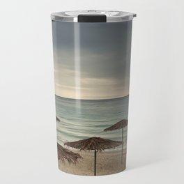 sea shore. Greece Travel Mug