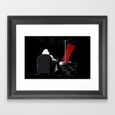 Michelin Striptease Framed Art Print