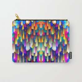 Colorful digital art splashing G390 Carry-All Pouch