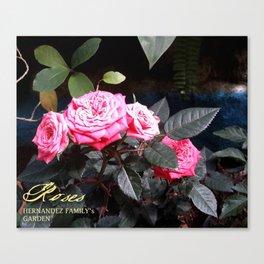 Roses I Canvas Print