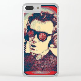Army Of Costello Pumps It Up Clear iPhone Case