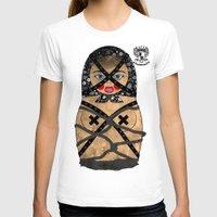bondage T-shirts featuring Bondage Matryoshka/Nesting Doll by Rozenblyum Couture