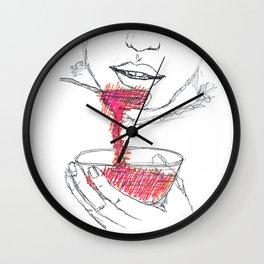 syrup Wall Clock