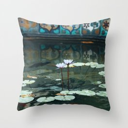 Colors of San Antonio II Throw Pillow