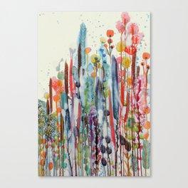 petit jardin 2 Canvas Print
