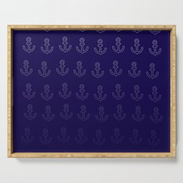 Anchors Aweigh! Serving Tray
