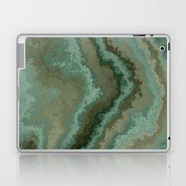 green texture abstract Laptop & iPad Skin