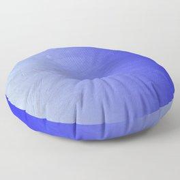 Blue Ice Glow Floor Pillow