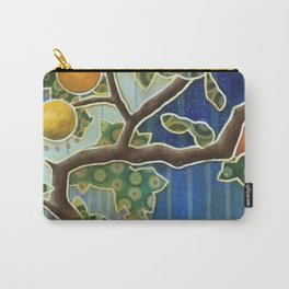 orange tree Carry-All Pouch