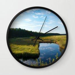 Alligator River National Wildlife Refuge Outer Banks NC OBX  Wall Clock