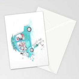 Snowy Stowaway Stationery Cards