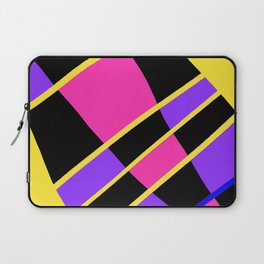 Block abstract bold design bright colors Laptop Sleeve