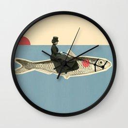 The Oceanride Wall Clock