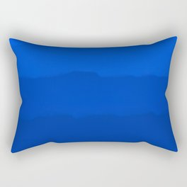 Endless Sea of Blue Rectangular Pillow