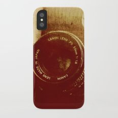 Room with A View iPhone X Slim Case