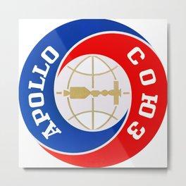 Apollo Soyuz Program Logo Metal Print