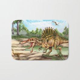 Dinosaur Species Bath Mat