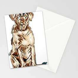 cute dog Stationery Cards
