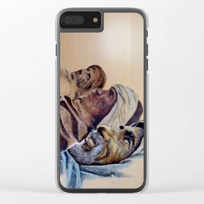 FREE SPIRITS - sunny version Clear iPhone Case