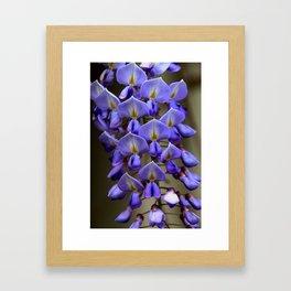 Blue Over You Framed Art Print
