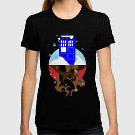 Upside Down Time Travel T-shirt