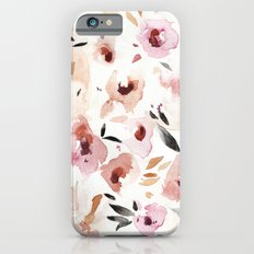 Wild Pansies iPhone 6s Slim Case