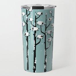 A Sheep in Tree Clothing Travel Mug