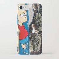 simpson iPhone & iPod Cases featuring Bart Simpson by Arran.Sahota
