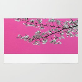 Spring, Cherry Blossom Time Rug