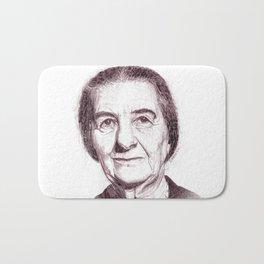 Golda Meir Bath Mat