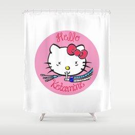 Hello Ketamine: ICU Nurse Humor Shower Curtain