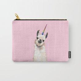 Unicorn Llama Carry-All Pouch