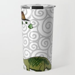 dino saurus Travel Mug