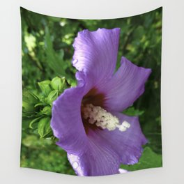 From Garden To Art The Flowering Hibiscus Wall Tapestry