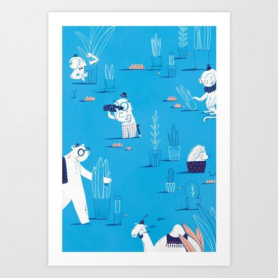 ABC print #2 by jacquesandlise