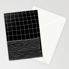 Hand Drawn Grid Stationery Cards