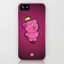 Pink Dead Bear iPhone Case