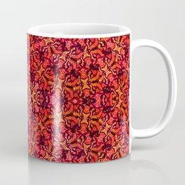 Floral Fireworks Pattern Coffee Mug