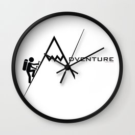 Adventure with Sons Of Nature Wall Clock
