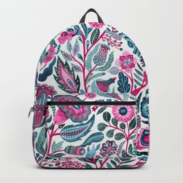 Endlessly growing - pink and turquoise Backpack