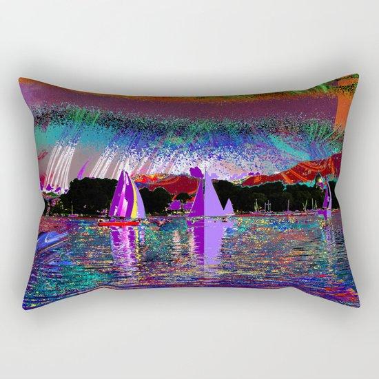 sailing today Rectangular Pillow