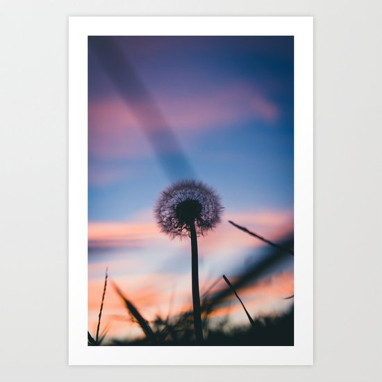 Hollow Sunset Art Print