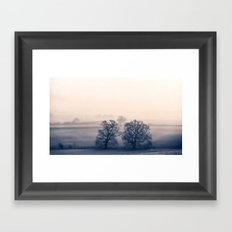 Where the trees have no name Framed Art Print
