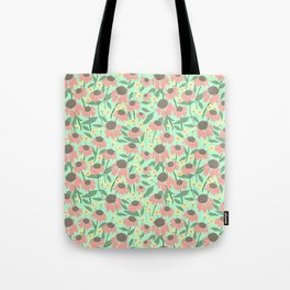 Echinacea and Coreopsis Tote Bag