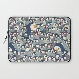 Baby Penguin Pattern Laptop Sleeve